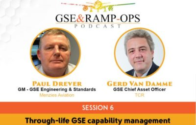GSE And Ramp-Ops Podcast- Through-Life GSE and TCO